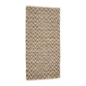 Hnědý koberec zjuty akůže Simla, 170x130cm