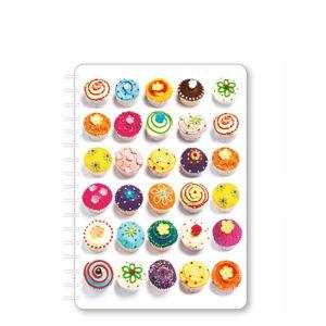 Zápisník A5 GO Stationery Cupcake
