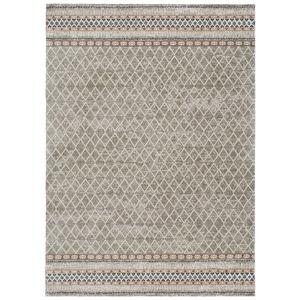 Šedý koberec vhodný i na ven Universal Sofie Silver Marro, 135 x 190 cm