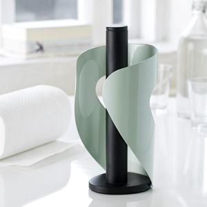 Světle zelený držák na ubrousky Steel Function Pisa